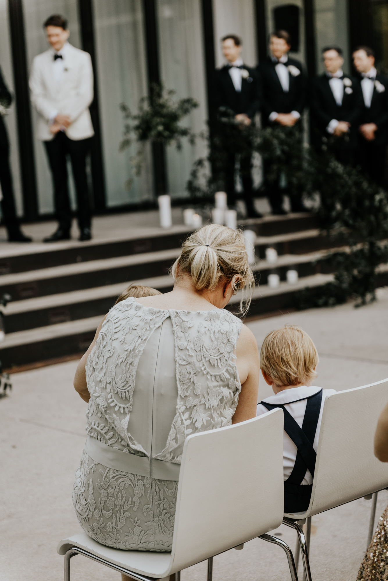 Intimate Wedding day moments at South Congress Hotel in Austin, Texas