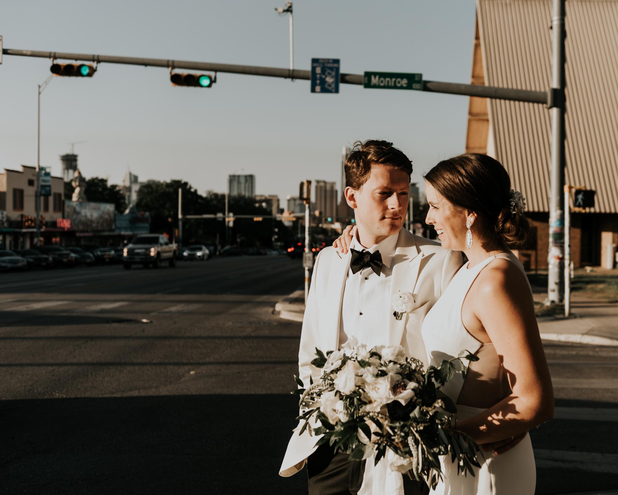 Intimate Wedding Portraits Austin Texas