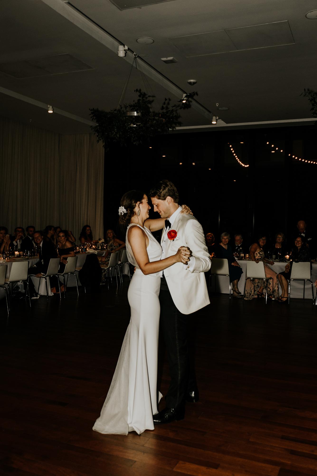 South Congress Hotel Wedding First Dance Photos Austin, Texas