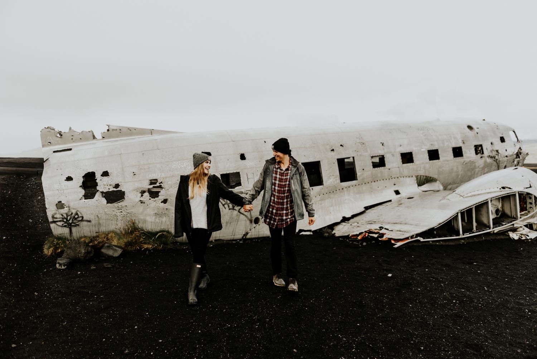 Adventure Photography Session in Sólheimasandur Iceland