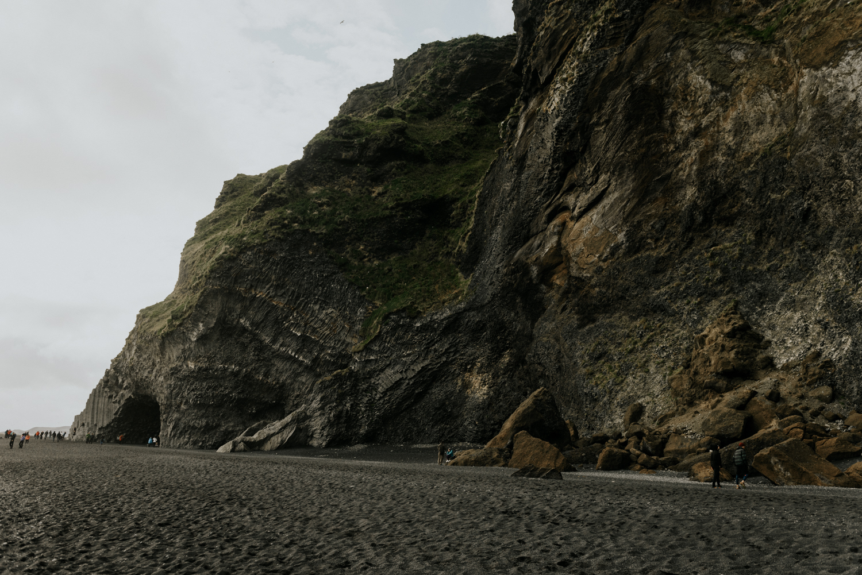Black Sand beach Adventurous Couples Session in Vik, Iceland