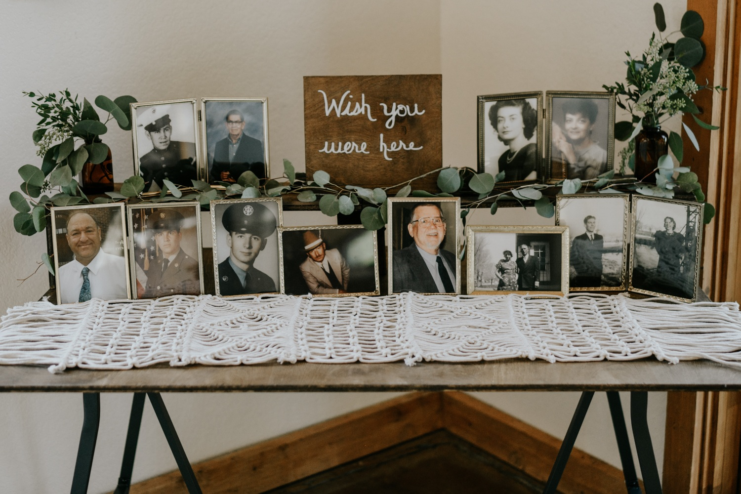 Intimate Mountain Wedding Decor Photos, Meadow Creek, Pine Colorado