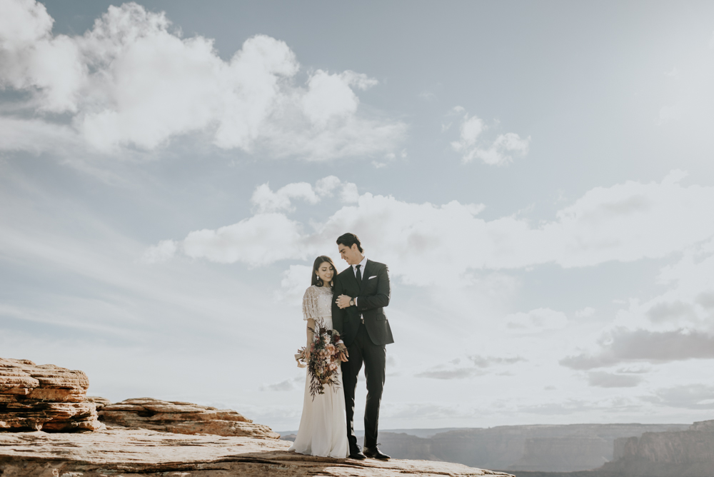 Dead Horse Point Couples Session