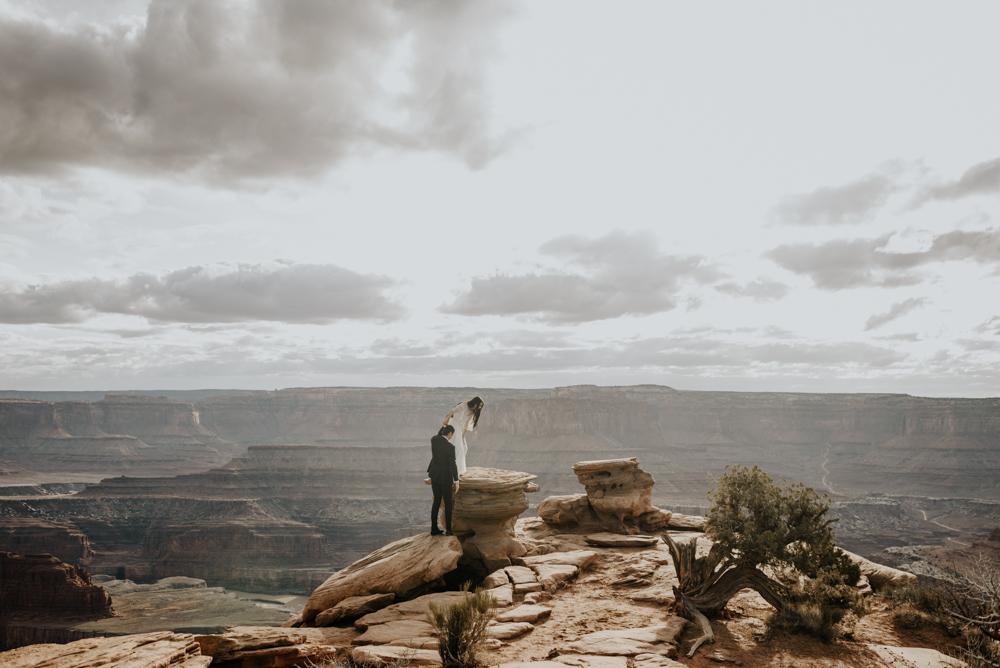 Elopement in Moab, Utah