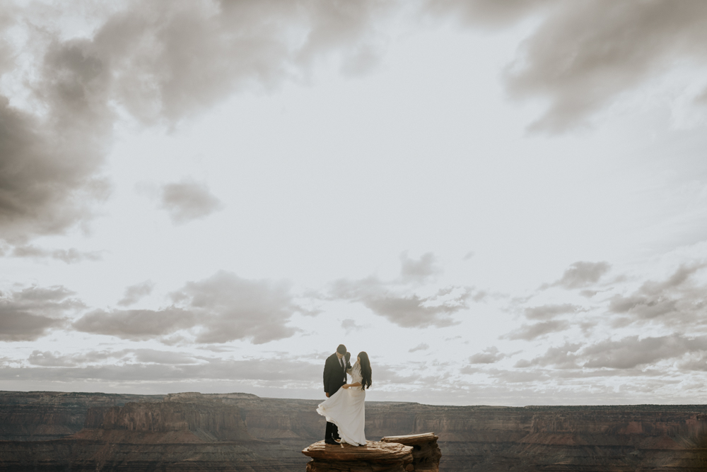 Couples Adventure Session in Moab, Utah
