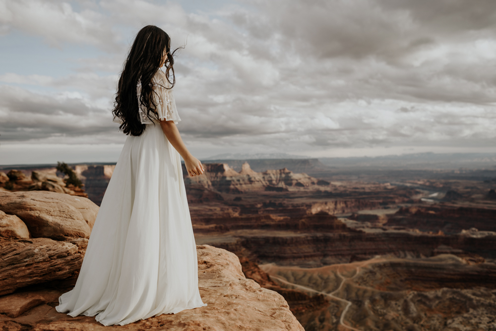 Anniversary Session at Dead Horse Point State Park in Moab, Utah