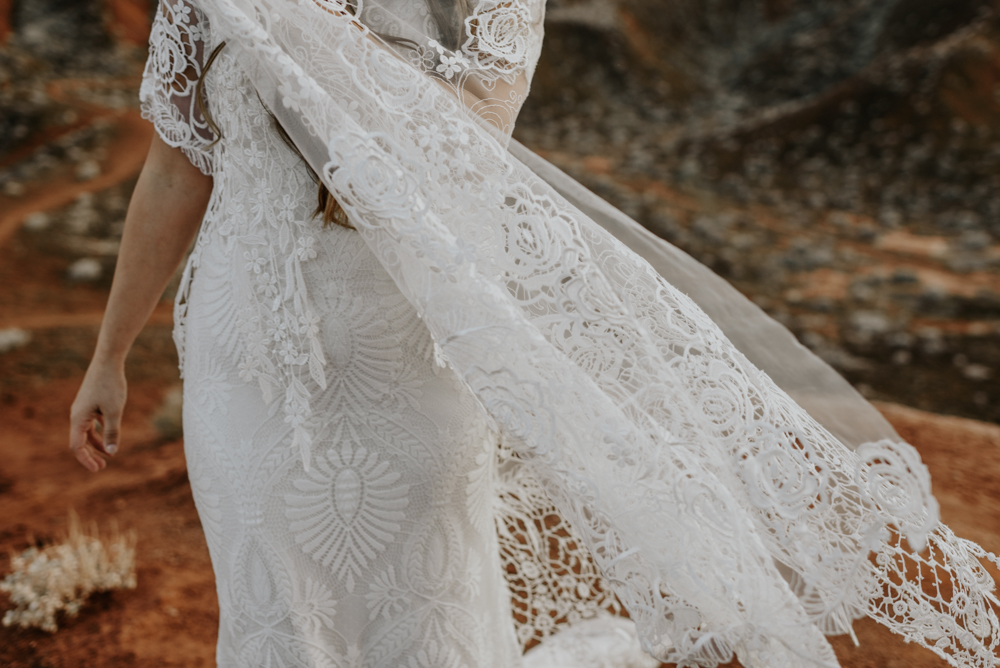 The perfect Vow Renewal Dress