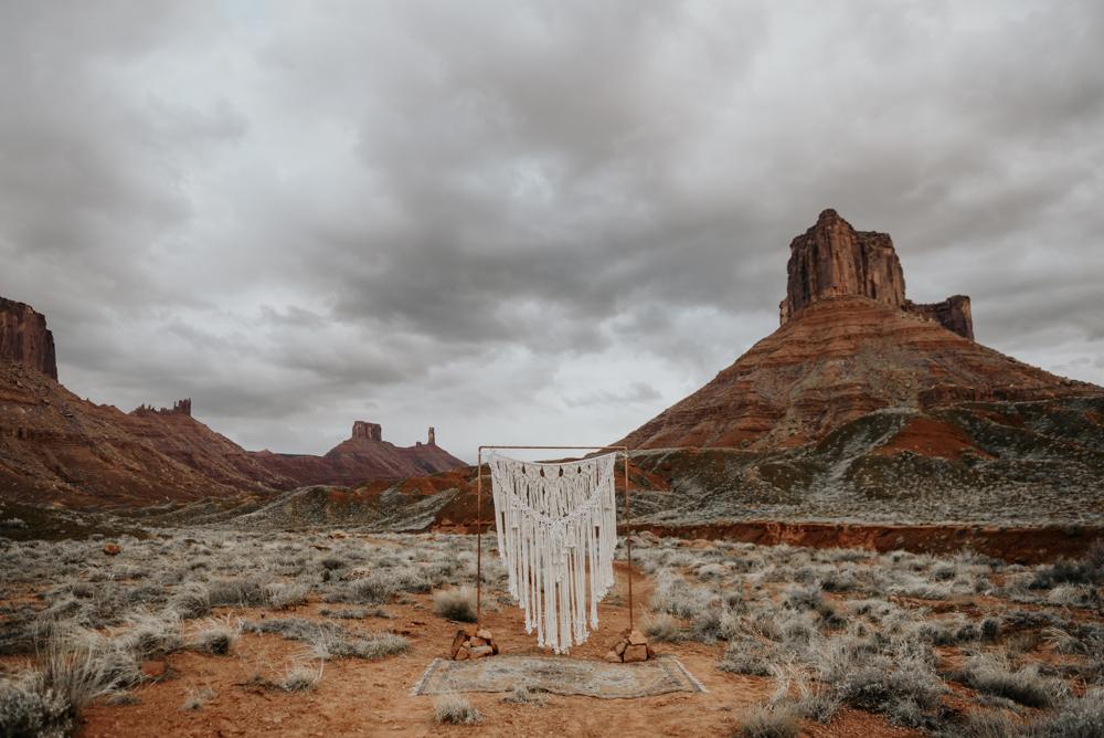 Moab, Utah Elopement Ceremony Ideas