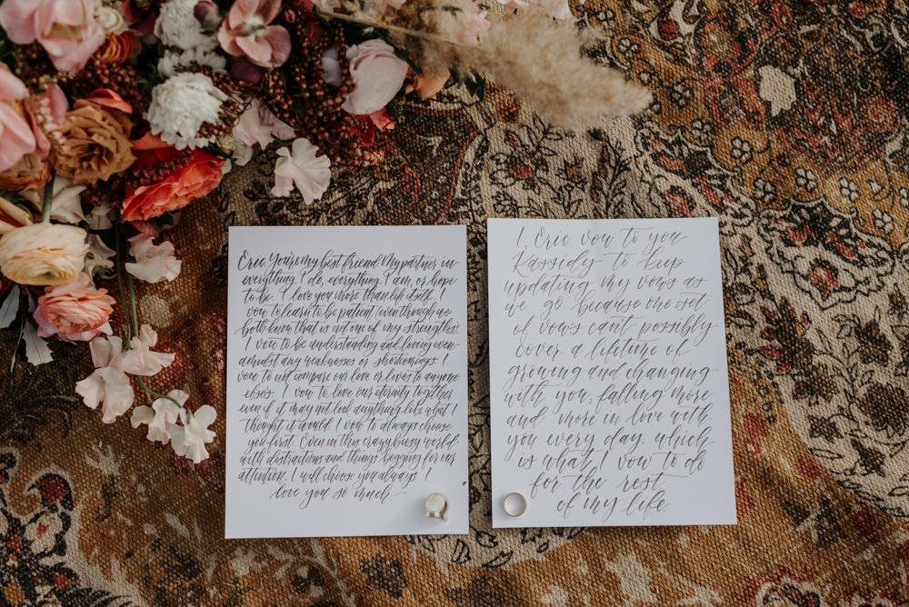 Moab, Utah Elopement Vows