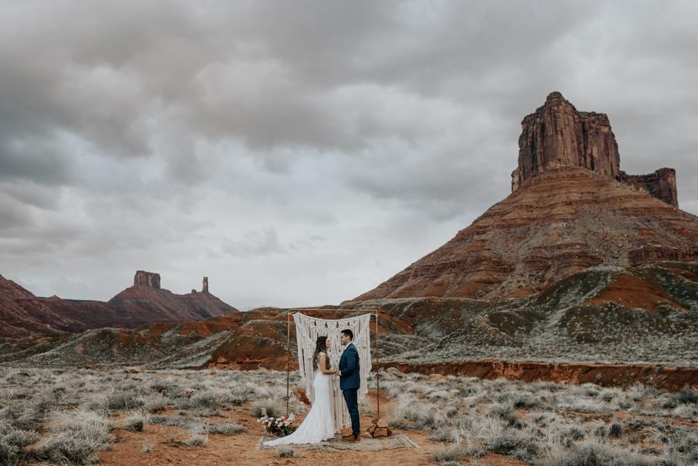 Moab, Utah Vow Renewal Photos