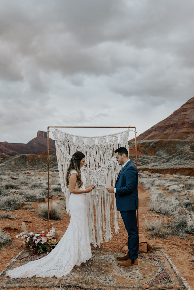 Moab, Utah Vow Renewal Adventure Photos