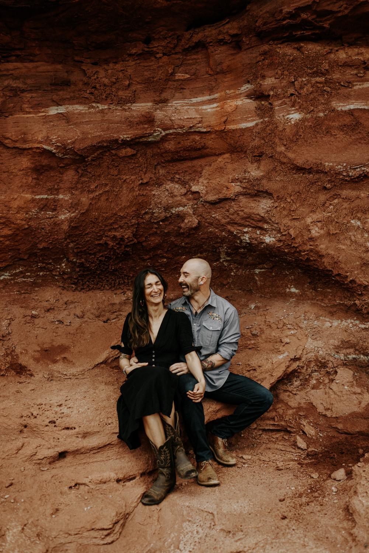 Couples Photo in Moab, Utah