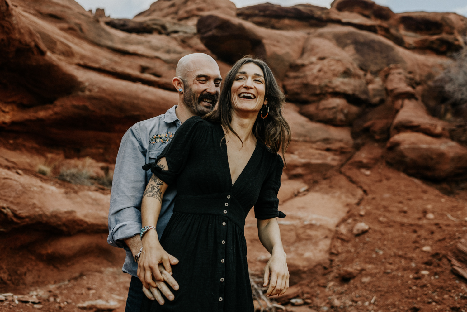 Cute Couples Pictures in Moab, Utah