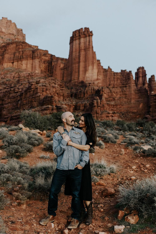 Engagement Photos in Moab, Utah