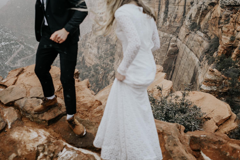 Zion National Park Elopement Photography