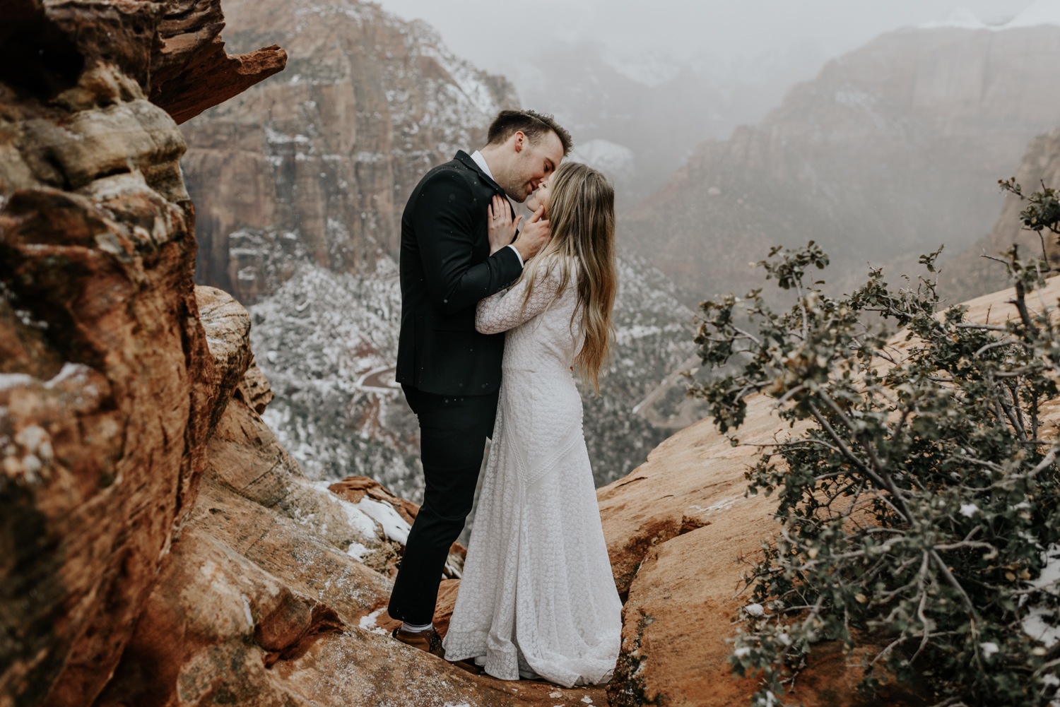 Outdoor lovers at Zion National Park