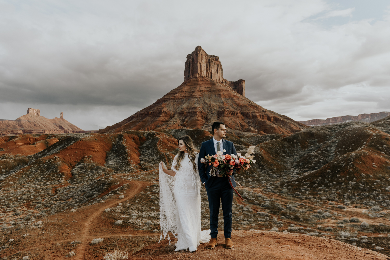 Moab Utah Adventure Wedding Photographer