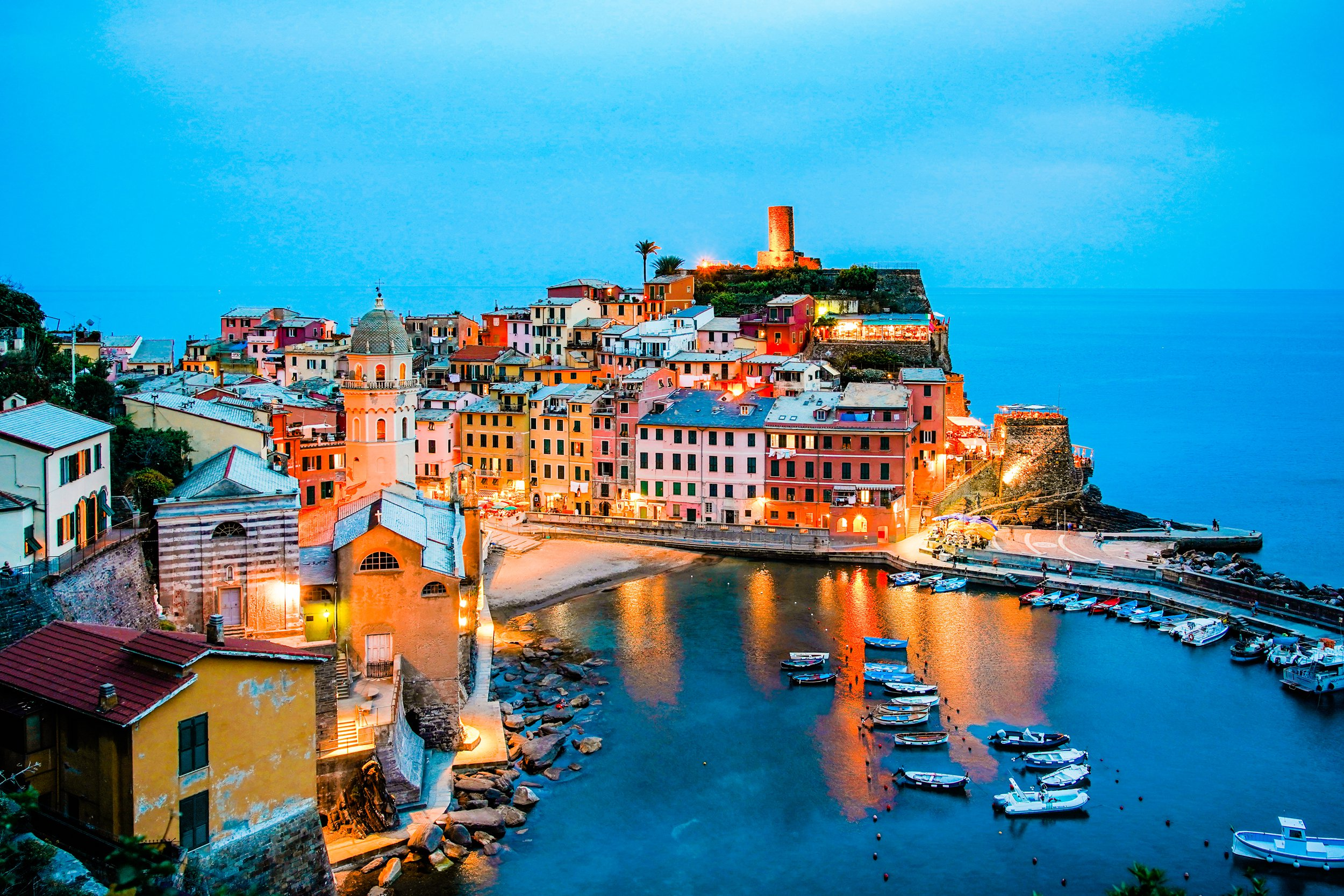 Vernazza, Italy. June 2018. Shot on Sony A7III and Sony 24-70 f4 lens. Shot at 30mm. Shutter speed 1/3 sec. Aperture f/4. ISO 800.