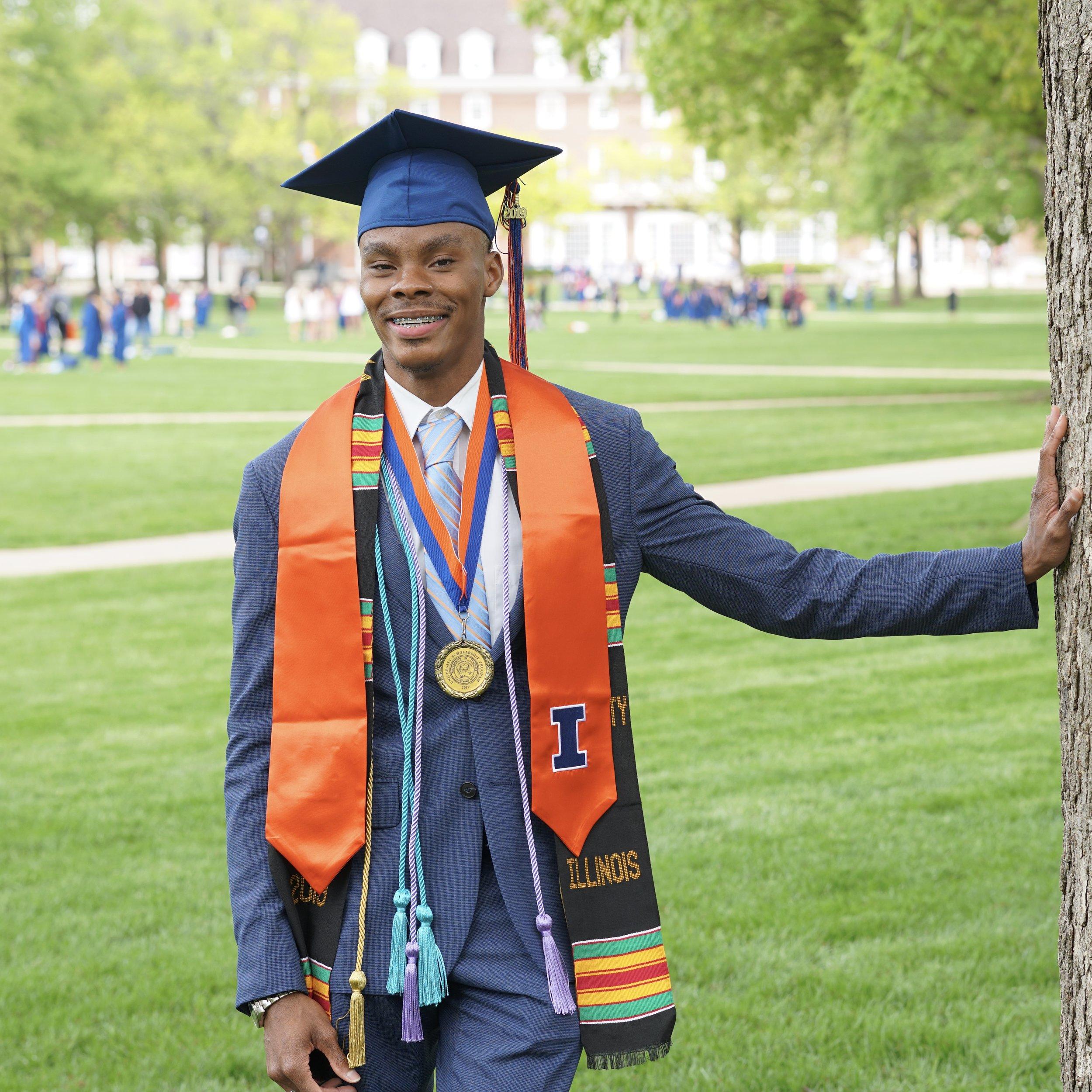 James Jones, BA - University of Illinois, Class of 2019