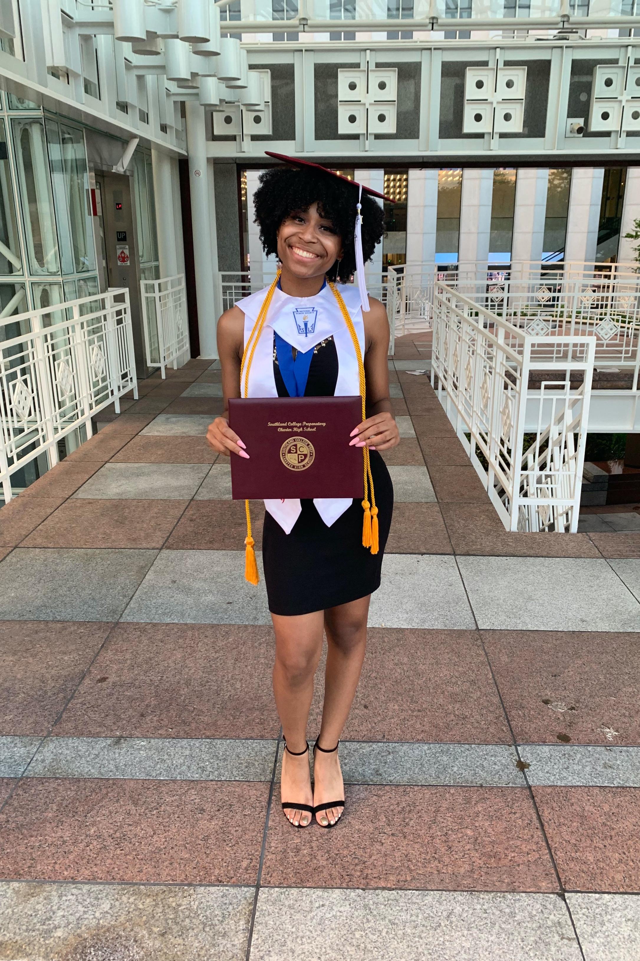 Jayda peoples, graduate - southland college prep high school, c/o 2019