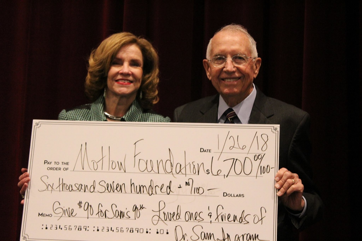 The Foundation raised $6,700 to go towards the Emergency Funds Scholarship, the new Textbook Scholarship for Adult Learners and the Smyrna Building Fund.