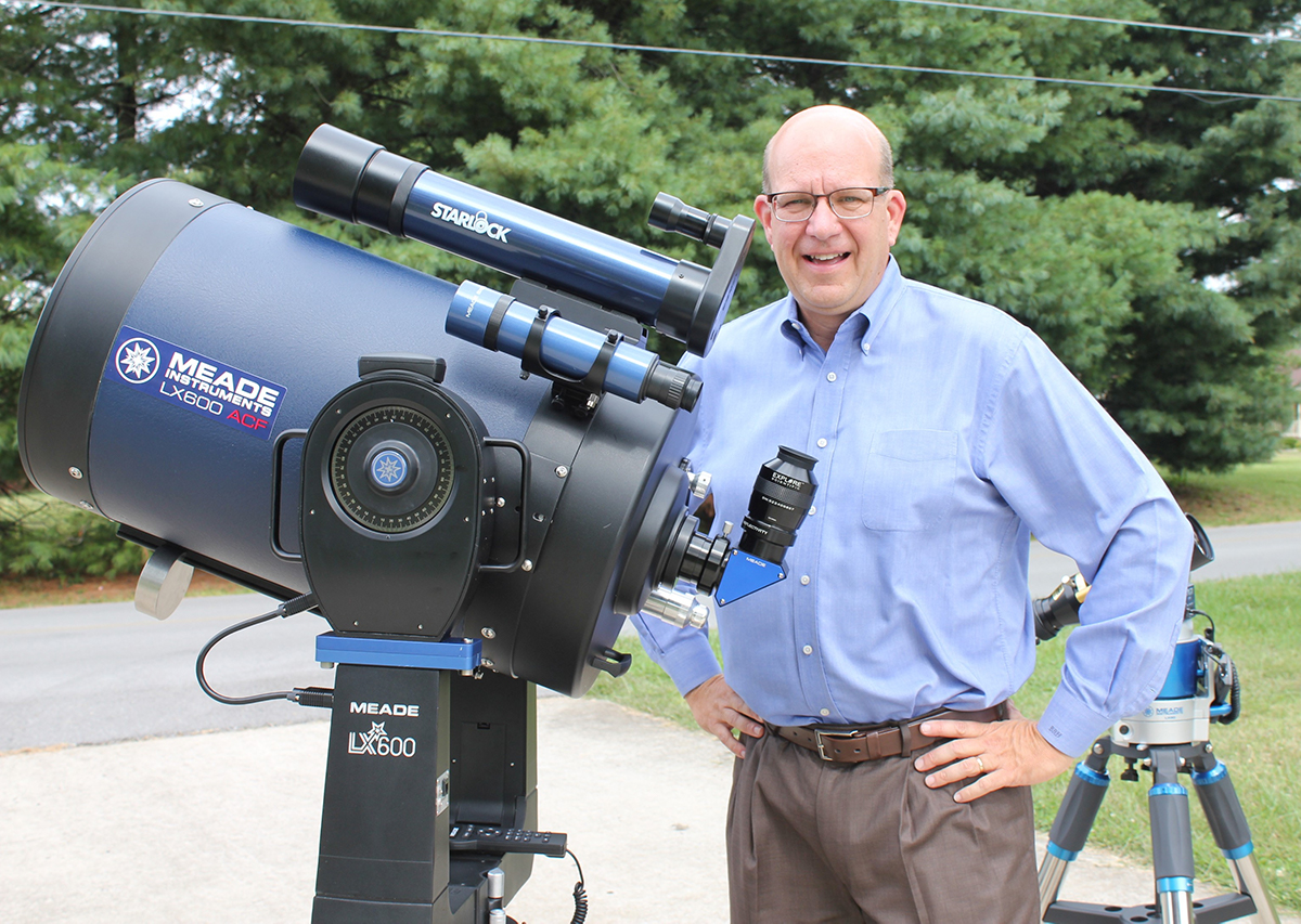 Motlow's Billy Hix has been recognized by multiple organizations for his work in educating young students about the night sky and space exploration. Hix's education program touches thousands of students and teachers each year as he travels throughout Tennessee to put on a planetarium-based educational event.