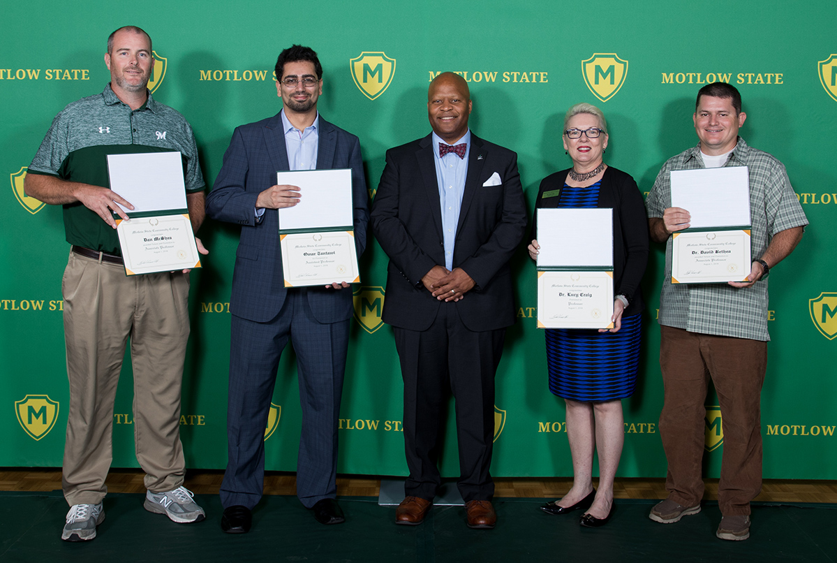 Motlow faculty members receive promotions