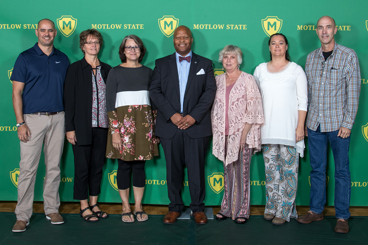 Motlow recognizes employees for 20 years of service