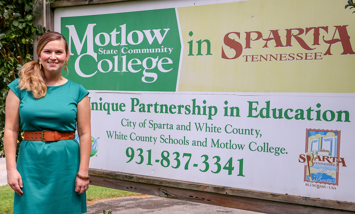 Beth Ann Swallows, Motlow Sparta site coordinator
