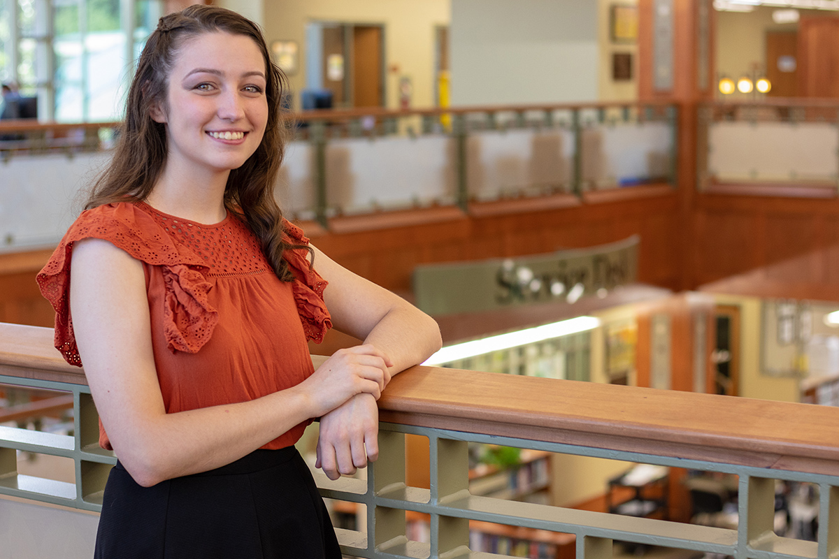 Brandy Brown, a sophomore at Motlow State Community College, was recently named a Phi Theta Kappa 2018 Coca-Cola Leaders of Promise Scholar and awarded a $1,000 scholarship. Brandy, from Hillsboro, is one of only 207 PTK sophomores nationwide to receive the award.
