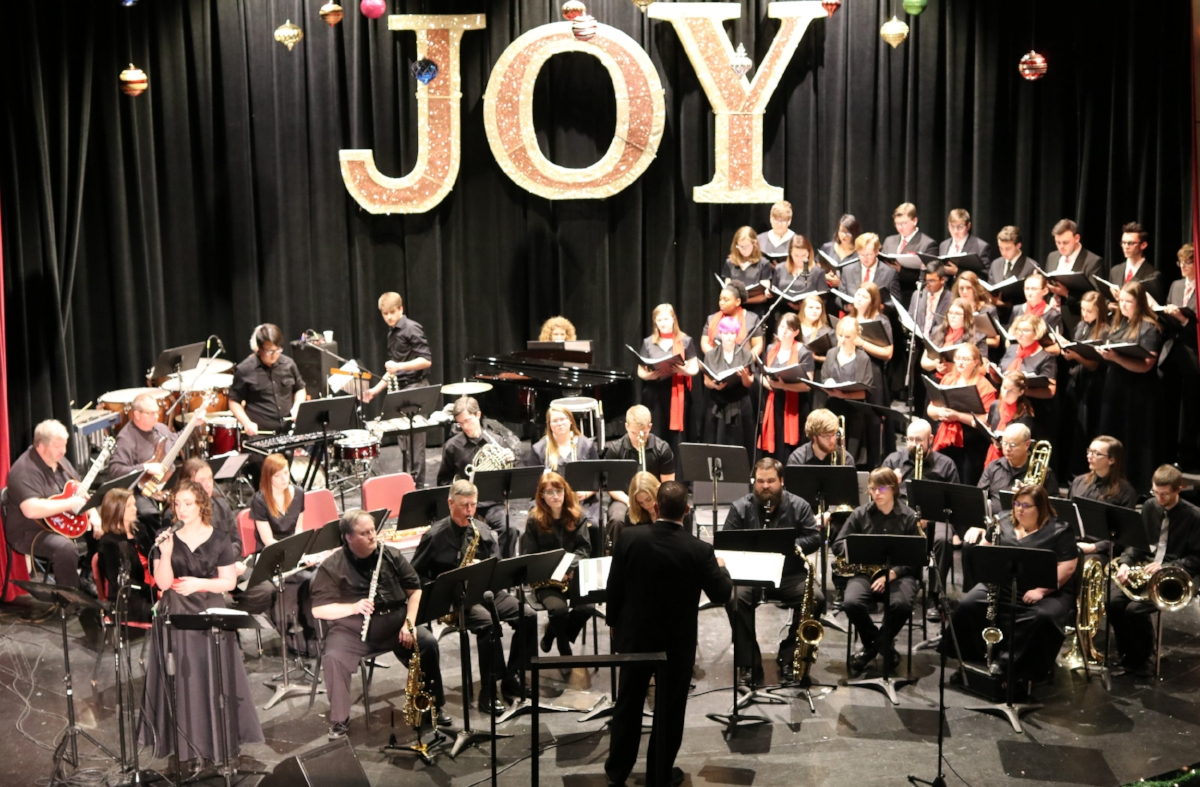 The Motlow State Community College Music Department is presenting its annual Holiday Concert on Dec. 6, at 7 p.m., and Dec. 9, at 2 p.m., in Powers auditorium in Eoff Hall on the Moore County campus. The concerts will feature the Motlow Vocal Ensemble and the Motlow Community Band. For reservations, call Bobbie Spratlin at 931-393-1709.