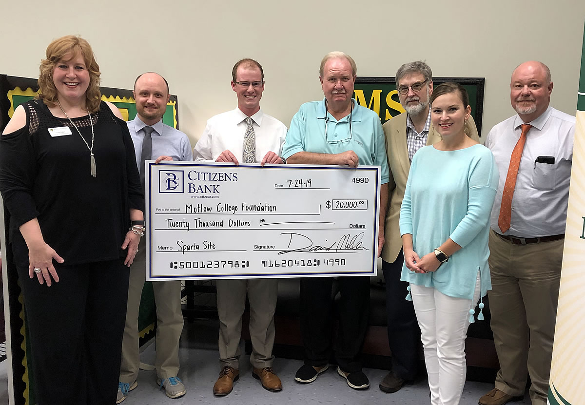 Motlow College Foundation receives generous support