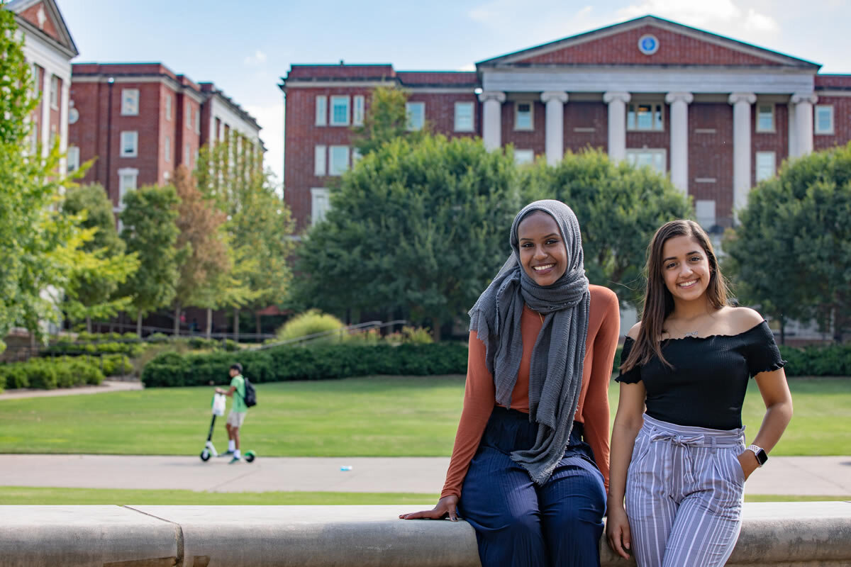 Duretti Ahmad, left, and Shery Girgis, pictured on the campus of Vanderbilt University, are Vanderbilt freshmen, enrolled in pre-medicine curricula, who graduated from LaVergne High School and were Motlow State Dual Enrollment students. As high school students, both were active in the LaVergne Rotary-Interact Club, a service organization that promotes service to community, teaches leadership skills, and develops self-confidence. Motlow Staff Photo.
