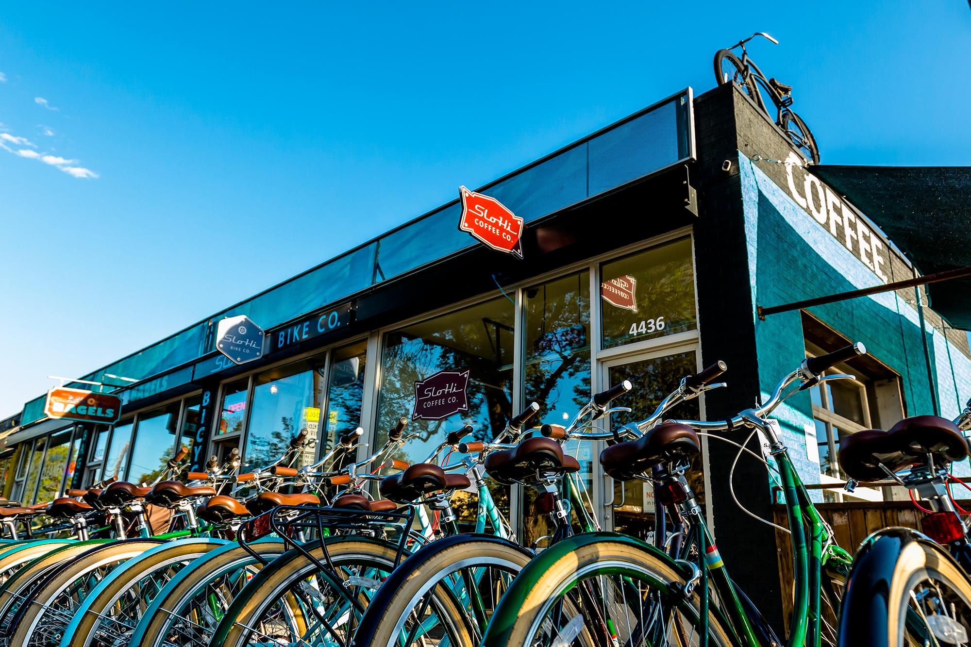 SloHi Coffee + Bike Co.