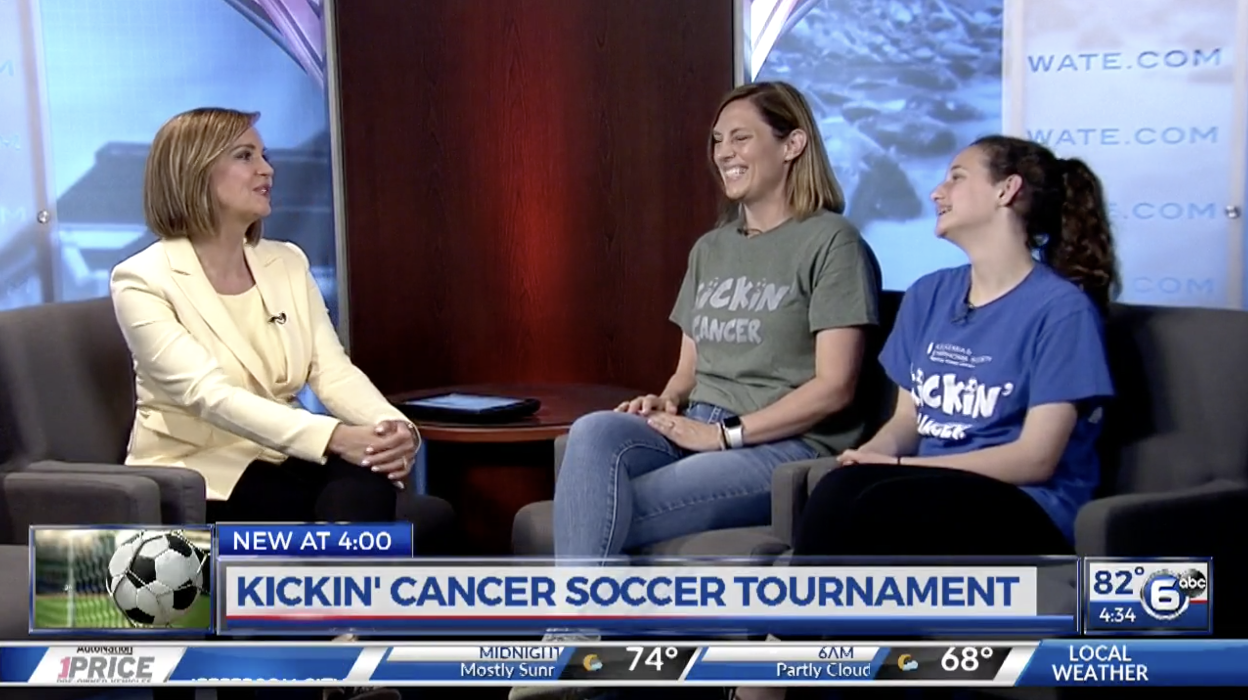 Feature Interview on WATE - 2018 Tournament Feature Spot
