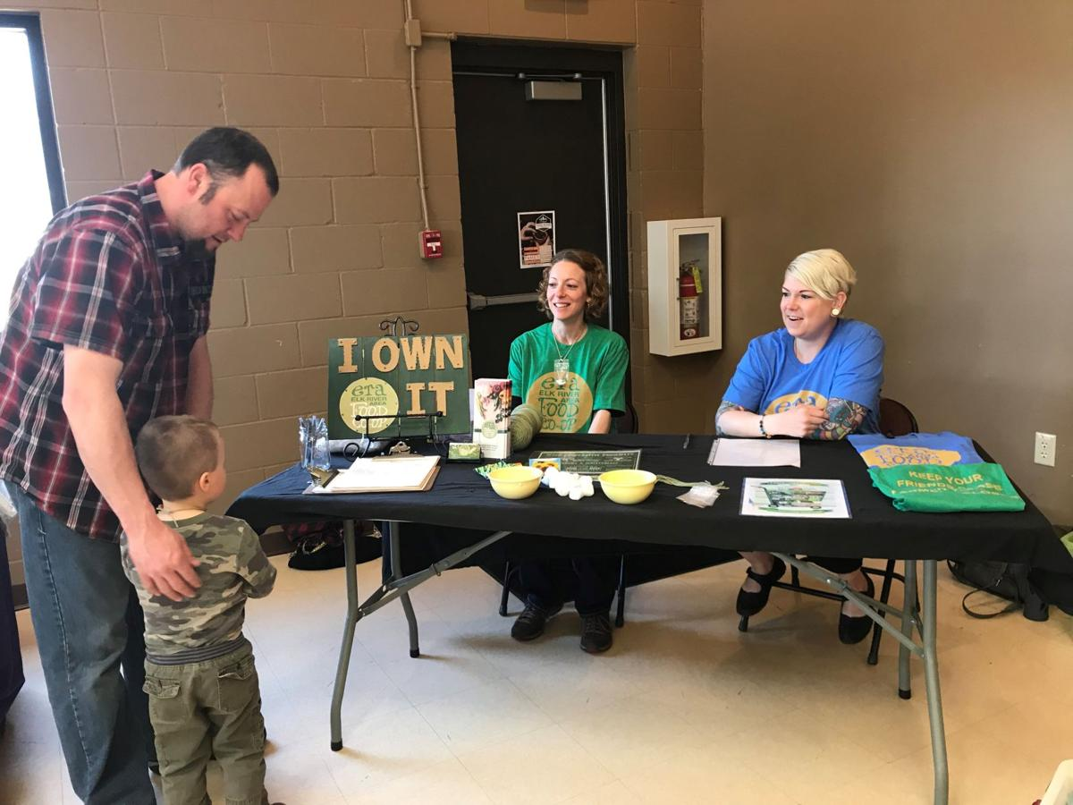 Elk River Area Food Co-op Earth Day Event Booth