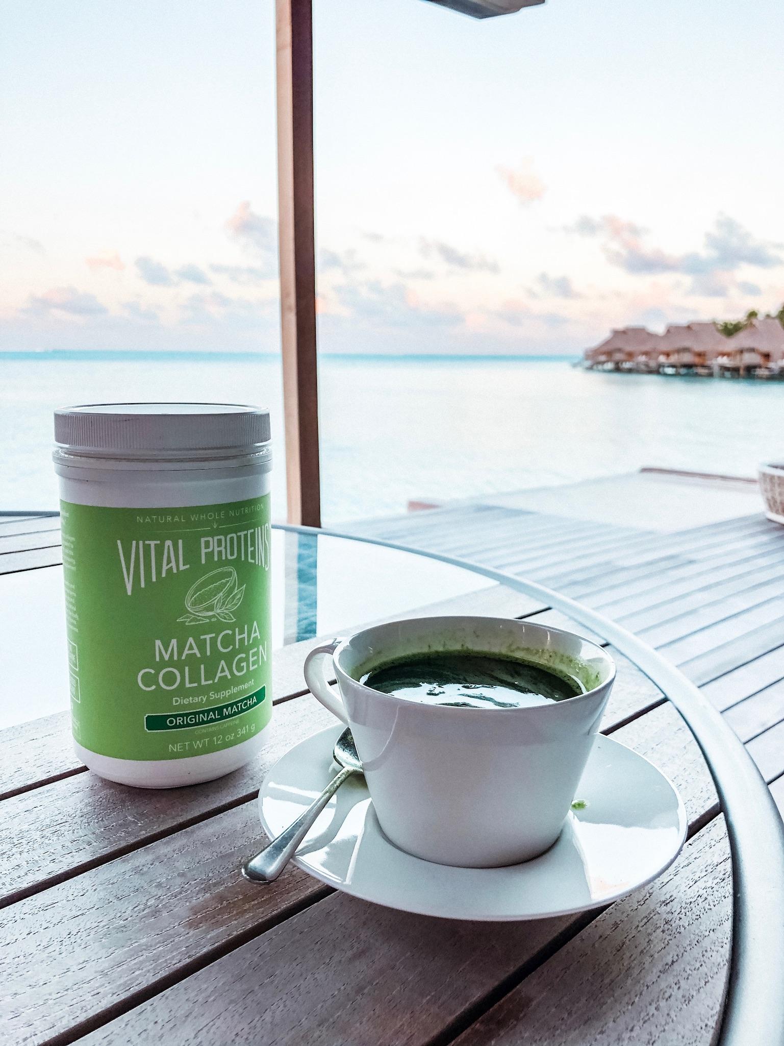 The usual morning view from my Bora Bora honeymoon hut.