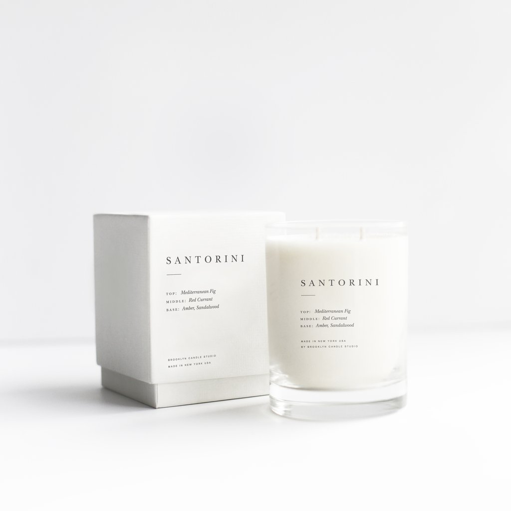 Santorini Candle | $38