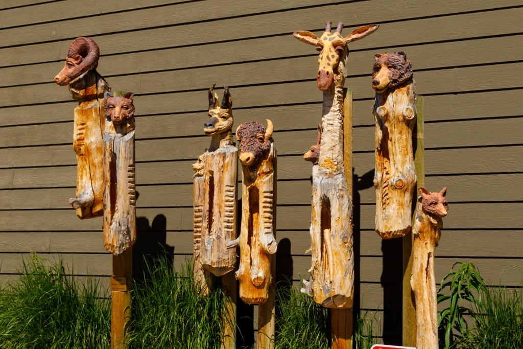 Slit Drum Sculptures