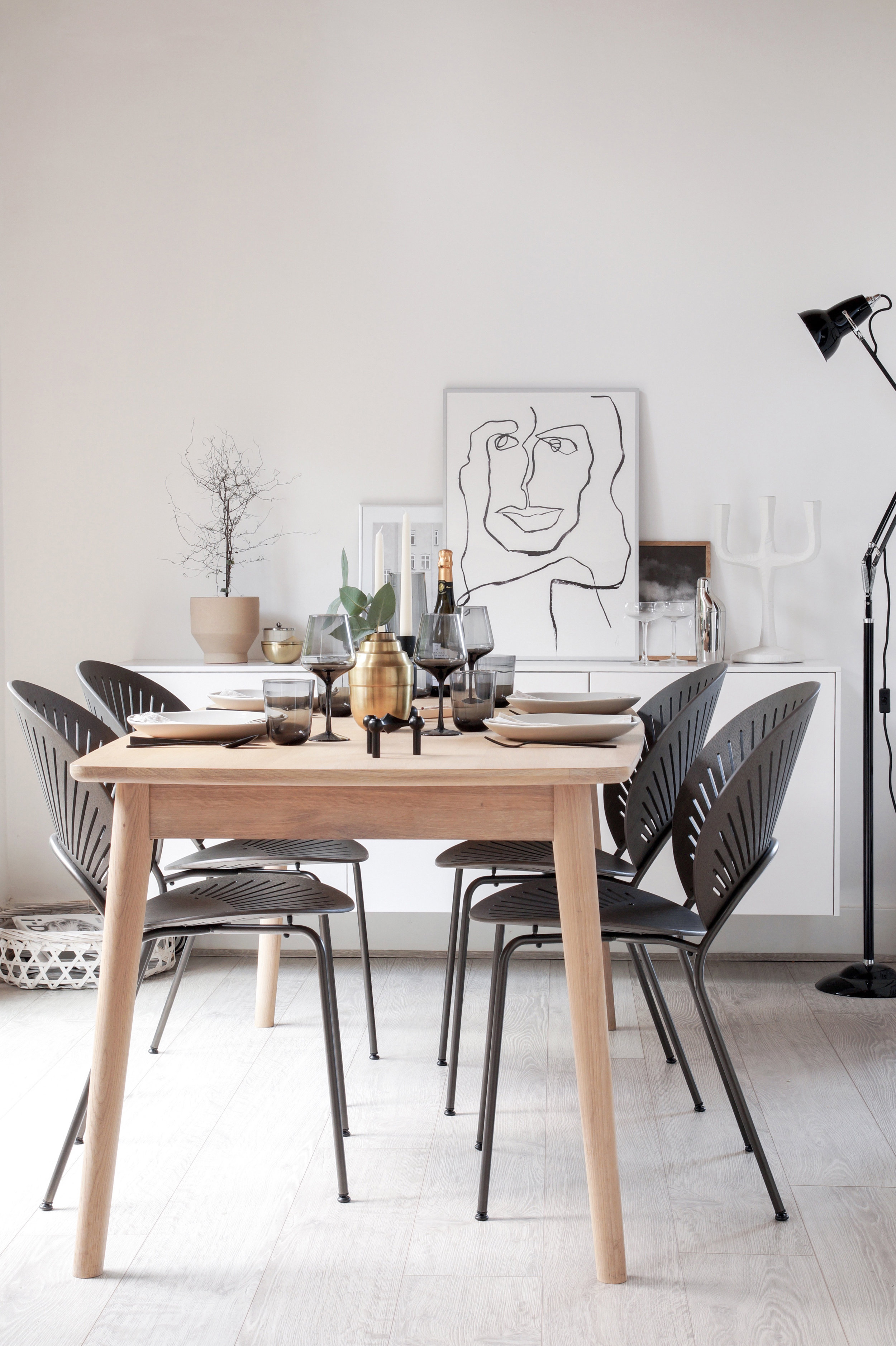 Have your products styled in a design bloggers home. -