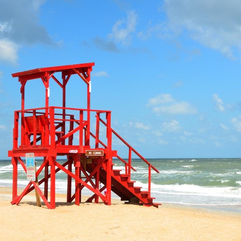 lifeguards & beach maintenence -