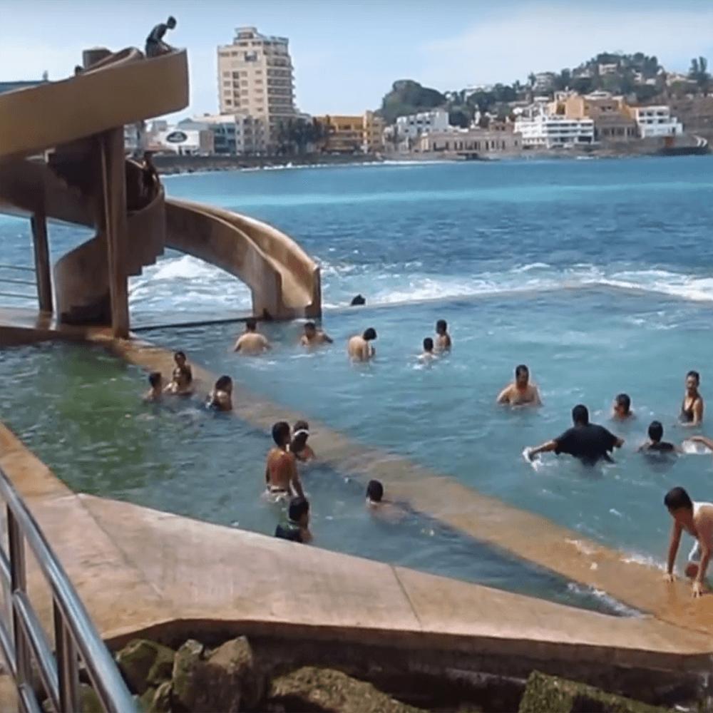 Carpa olivera - Location: North end of Olas Altas BeachPublic ocean pool for locals and visitors alike.