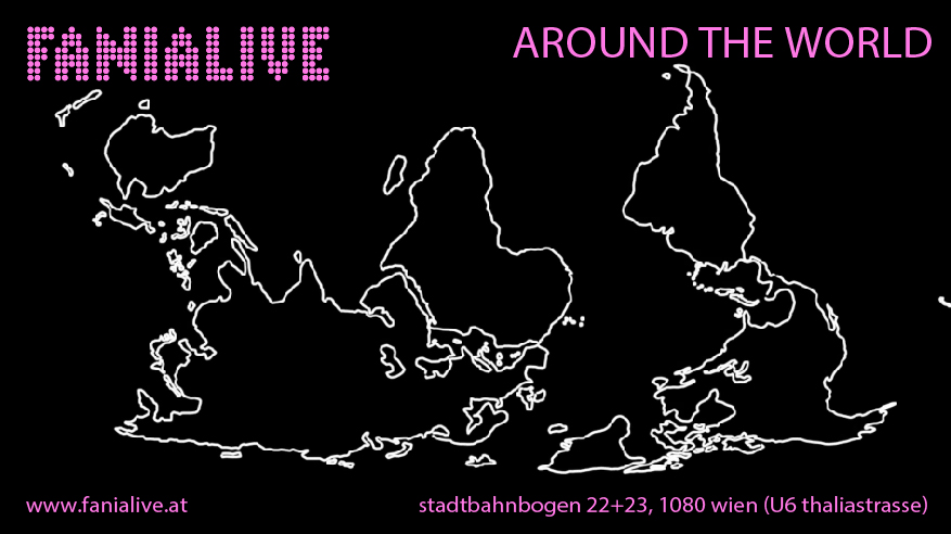 every tHURSDAY - AROUND THE WORLD - Enjoy the world of rhythm and his afro-latin caribbean roots, dance all night !!!