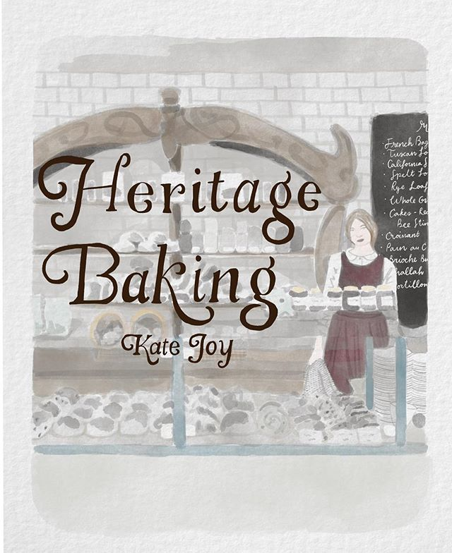 I have always loved the word heritage - it speaks to each person's individual history, opening up to a broader scope of location, race, nation, and creed. This doodle is inspired by old-fashioned illustrations, like the kind I grew up with in #littlehouseontheprairie. #heritage . . . . #history #heartandhome #baking #baker #bakery #picturebook #childrensbooks #childrensbookillustration #penandink #watercolor #watercolour #inkandwatercolor #handlettering #lancasterpa