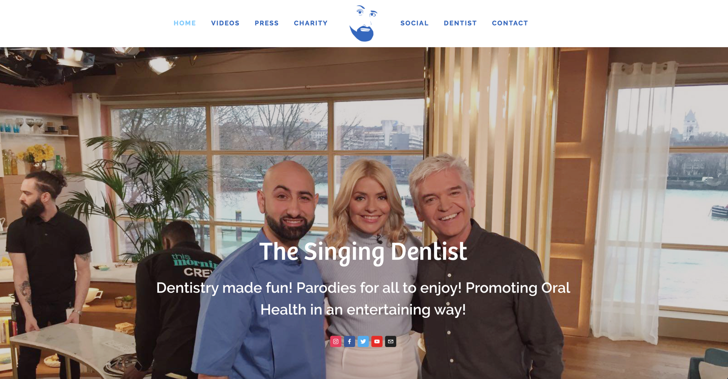 The Singing Dentist - Dr Milad Shadrooh of Chequers Dental, the most influential person in dentistry in 2017, appointed us to create his Singing Dentist website. Created in under 48 hours is proof that we can deliver a very quick turn around when required!www.singingdentist.com