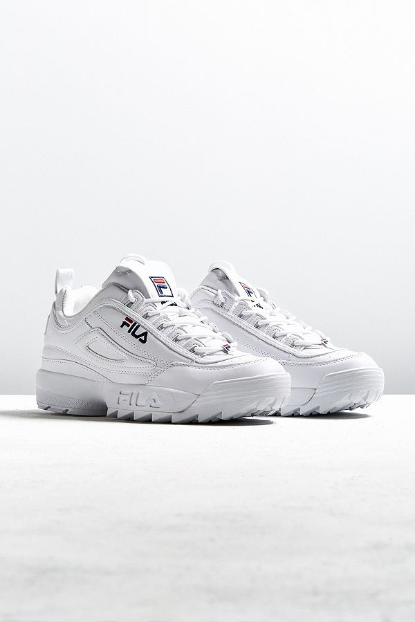 FILA Disruptor Core White Trainers