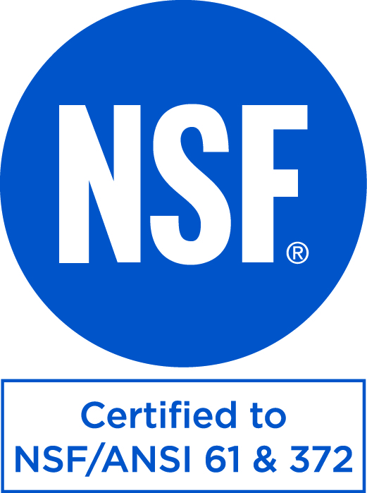 NSF61 certified upon request