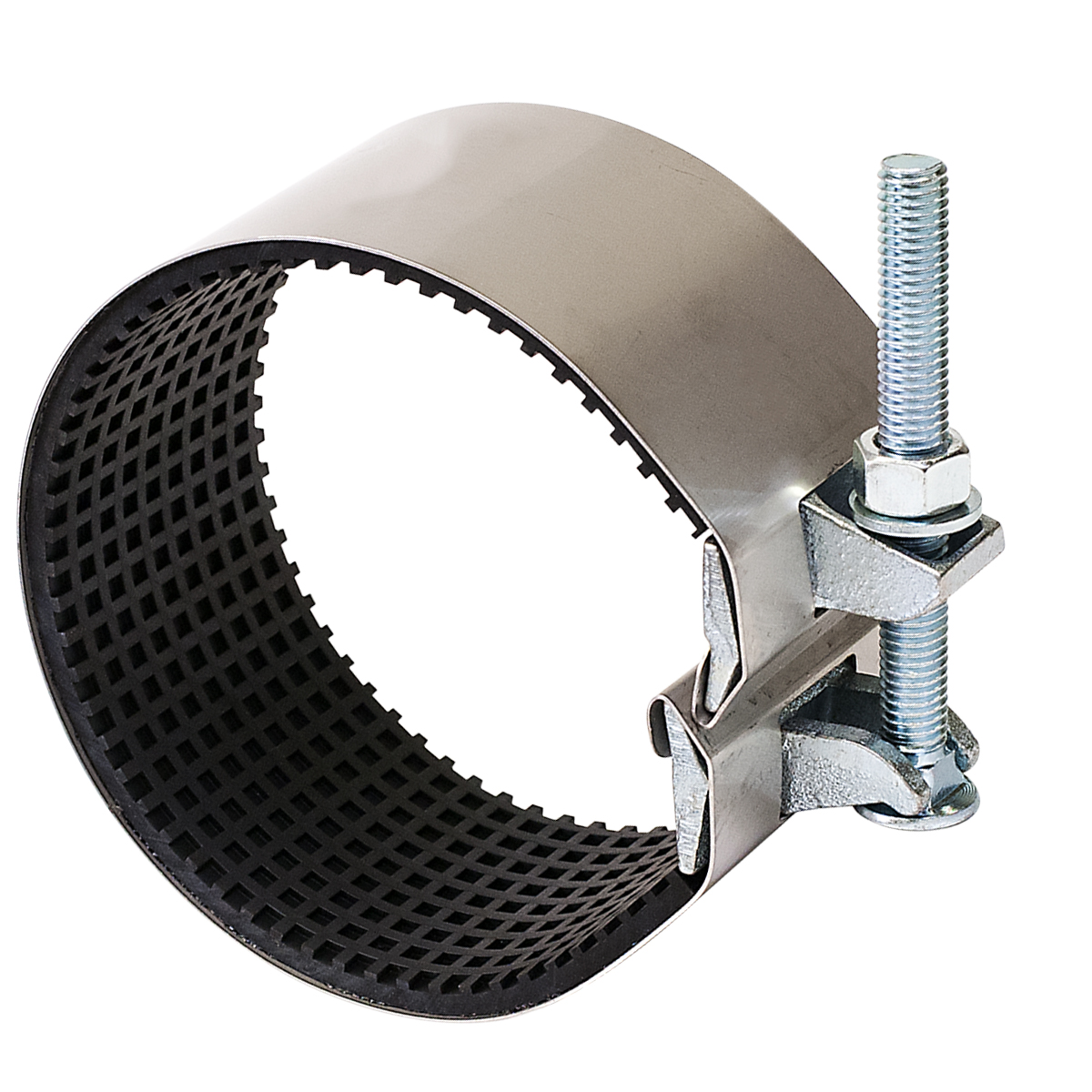SC - Stainless steel repair clamp.Nominal Sizes1/2 - 8 inchesWorking PressureUp to 150 psiPipe CompatibilitySteel, cast iron, asbestos cement, plastic and other types of pipe