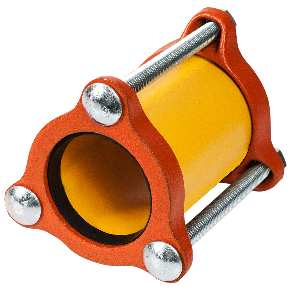 511 - Lightweight ductile iron coupling.Nominal Sizes1/2 - 12 inchesWorking PressureUp to 200 psiPipe CompatibilitySteel, copper and PVC pipe