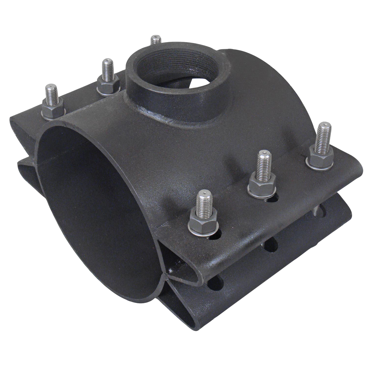 FTS420T - Fabricated steel service saddle.Nominal Sizes6